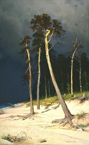 A Sandy Coastline - Πесчаный берег